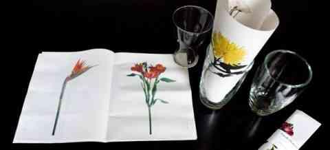 Una idea para decorar con flores de papel 1