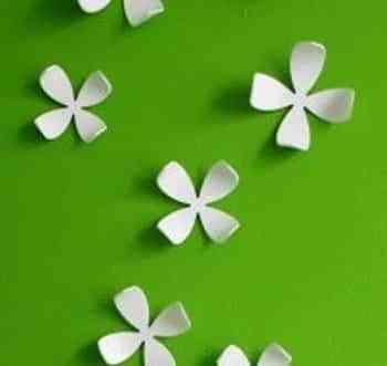 Ideas para decorar con flores tus paredes 1