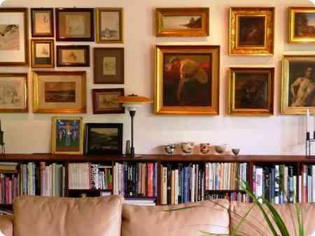 Interiorismo y decoracion lola torga como colocar cuadros i - Como colocar cuadros ...
