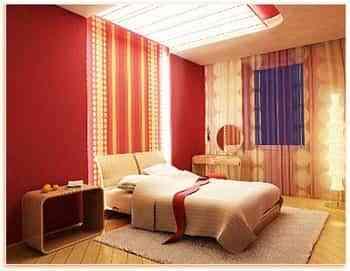 Cambia tus paredes con telas de colores 1