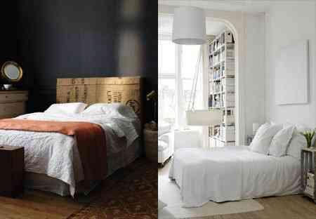 ¿Pintar la habitación en tonos claros u oscuros? 1