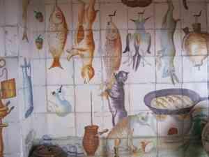 Sala de la cocina valenciana en el Museo de Artes Decorativas 5