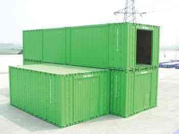 Las casa contenedor ya vienen de China 1