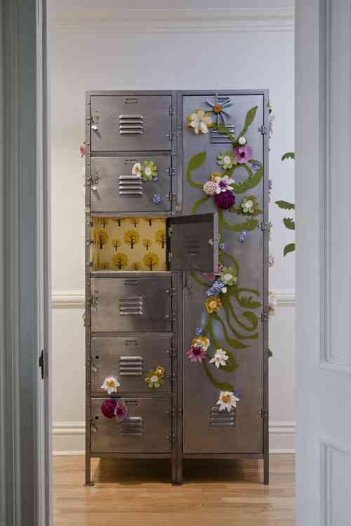 Ideas Para Decorar Paredes Y Muebles Con Fieltro Decoracion De - Ideas-para-decorar-muebles