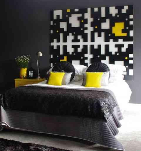 Im genes que inspiran una decoraci n en gris y amarillo - Decoracion en amarillo ...