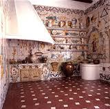 Sala de la cocina valenciana en el Museo de Artes Decorativas 1