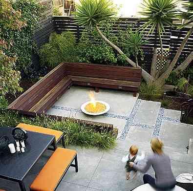 Casas cocinas mueble ideas de jardines exteriores for Ideas jardines exteriores