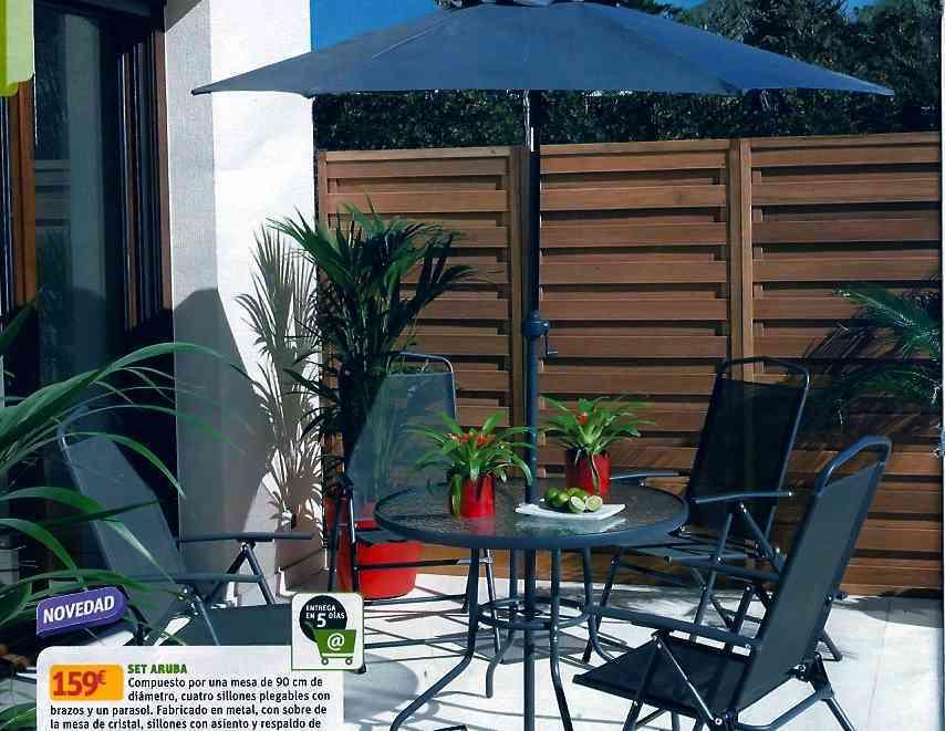Muebles de exterior en leroy merl n decoraci n de for Ambientador leroy merlin