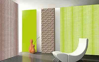 Tela tensada una alternativa diferente para tus paredes - Decorar paredes con telas ...