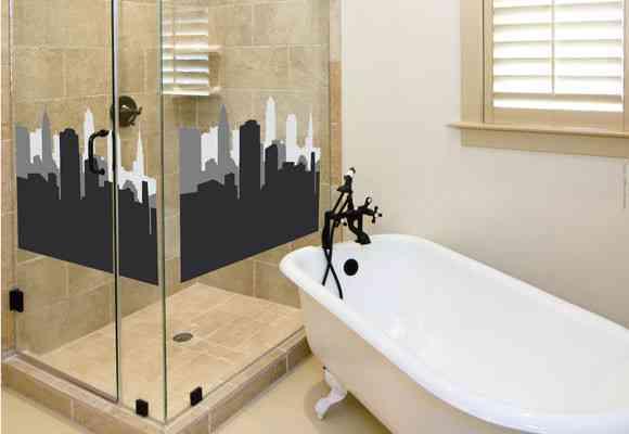 Decora tu baño con vinilos 3