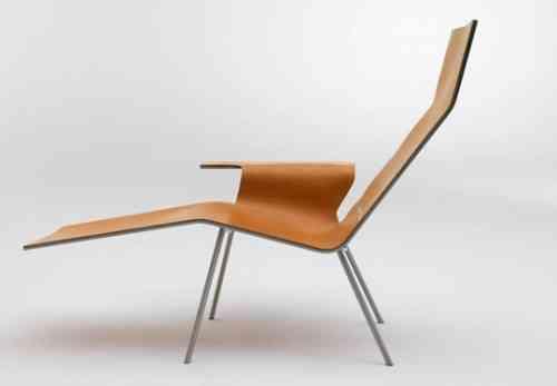 Minimalismo en esta silla de cuero 1
