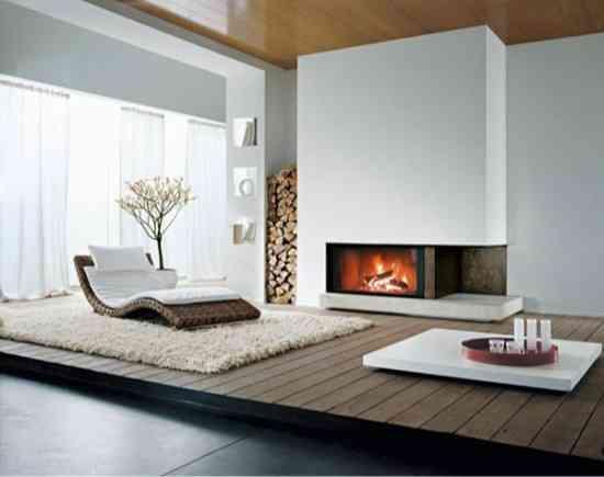 La chimenea como elemento decorativo 1