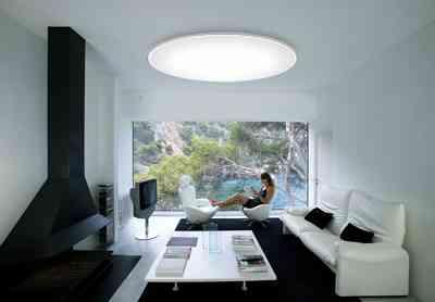 Plafones de techo luz y est tica perfecta decoraci n de for Plafones luz pared