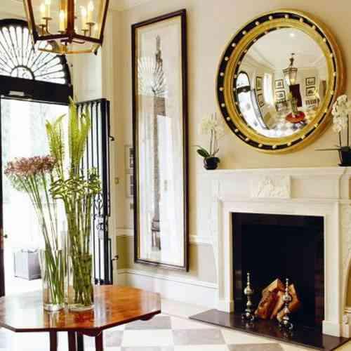 Decorar con espejos decoraci n de interiores opendeco for Espejos decorativos para chimeneas