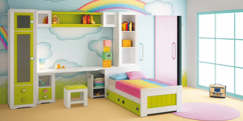 Pin Dormitorios Infantiles Recamaras Para Bebes Ninos Cars ...