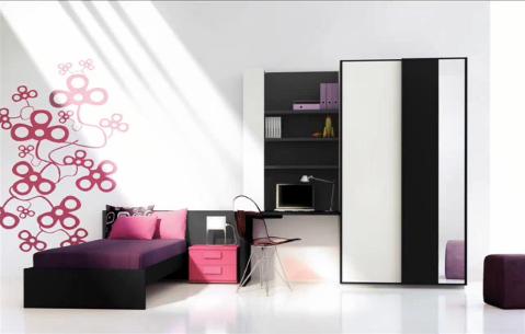 Estilos y diferentes modelos de dormitorios juveniles for Modelos de espejos para dormitorios