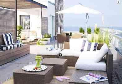Muebles para exterior de Ikea 1