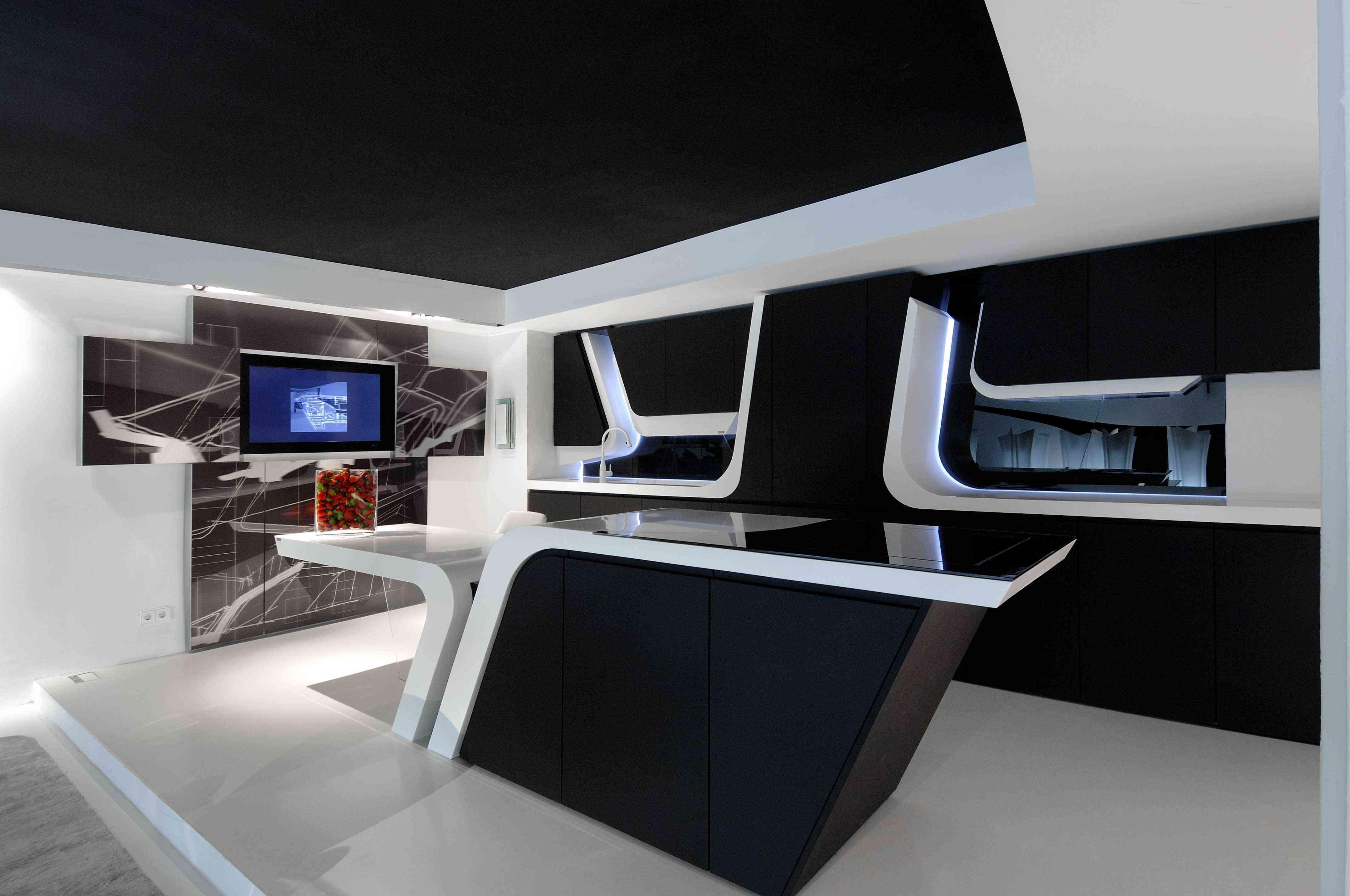 La cocina del futuro decoraci n de interiores opendeco - Frigorifico del futuro ...