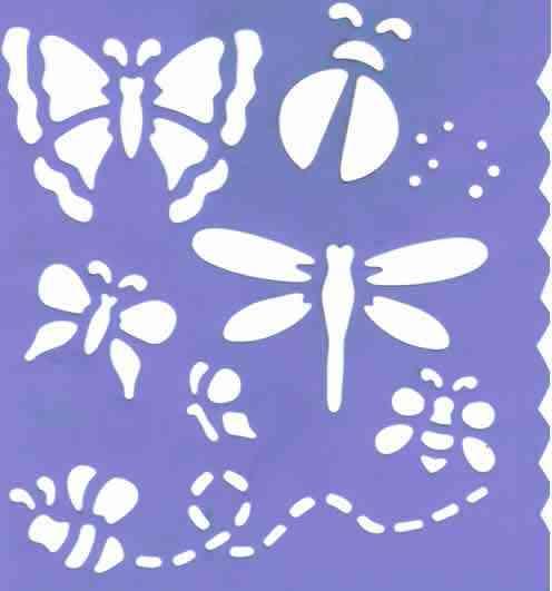 Pintar con plantillas motivos en las paredes. | openDeco. Decoración ...