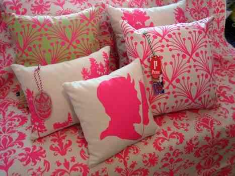 Rosa, tela de color rosa 1