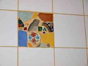 Azulejos hechos de trozos 1