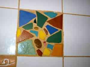 Azulejos hechos de trozos 3