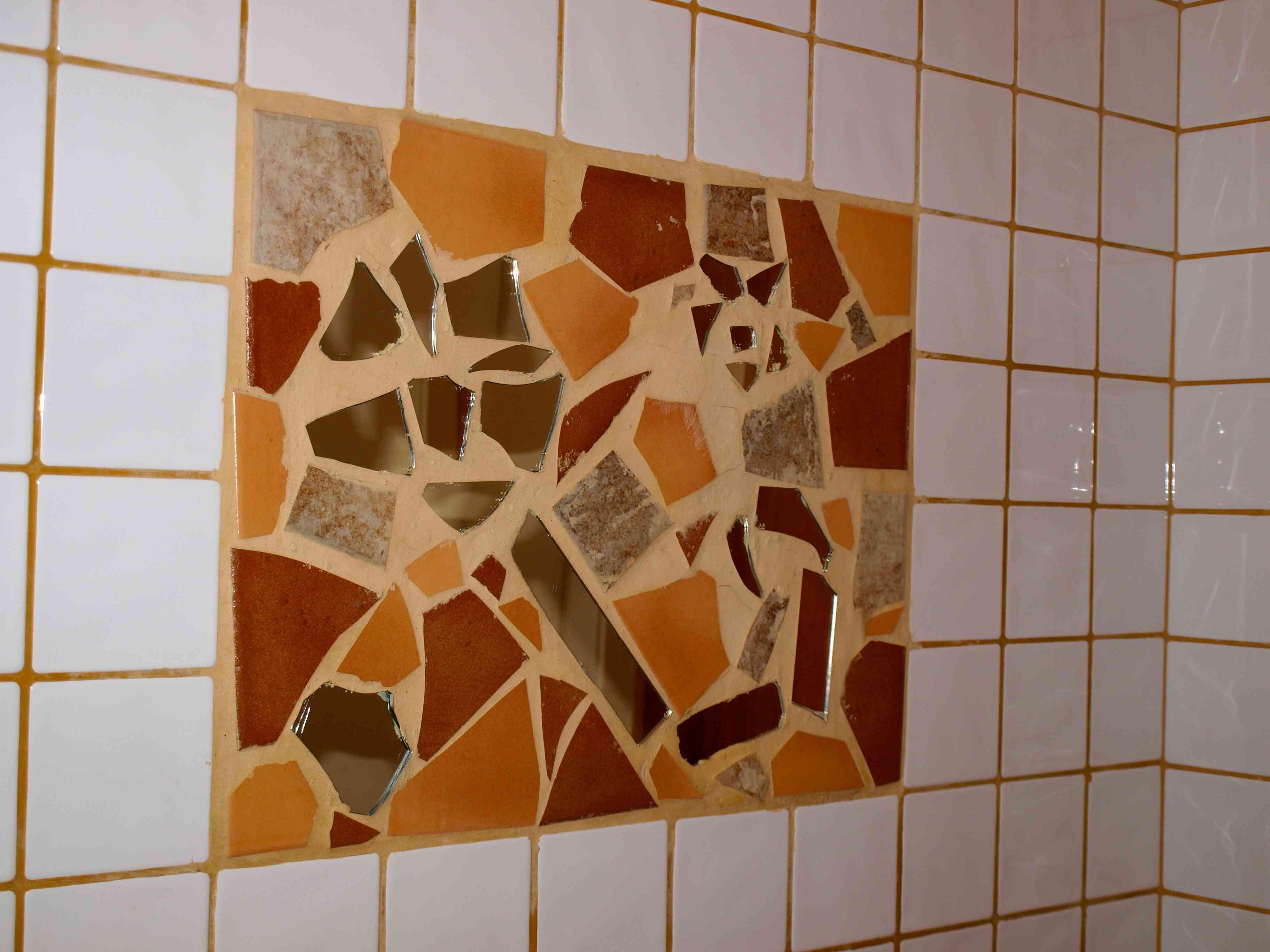 Collage de azulejos decoraci n de interiores opendeco for Azulejos rotos decoracion