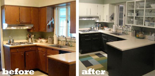 El antes y el despu s de 10 cocinas decoraci n de for Cocinas antes y despues
