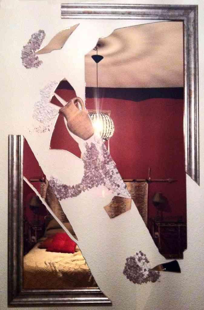 Escultura con espejo 1