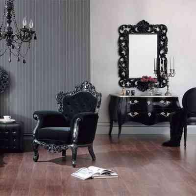 Combinación de estilos: decoración barroca y moderna 1
