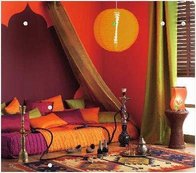 La decoraci n rabe decoraci n de interiores opendeco - Decoracion arabe interiores ...