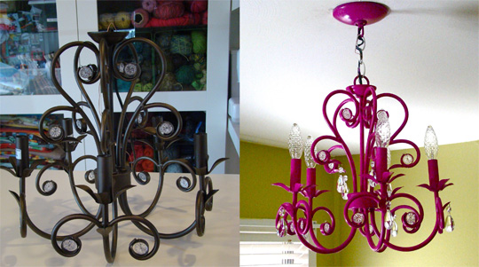 Cambia de estilo tus lámparas 1