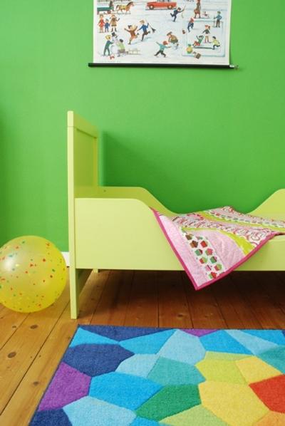 Decoración infantil en color verde 1