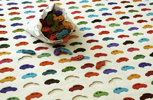 Divertida alfombra puzzle para niños 1