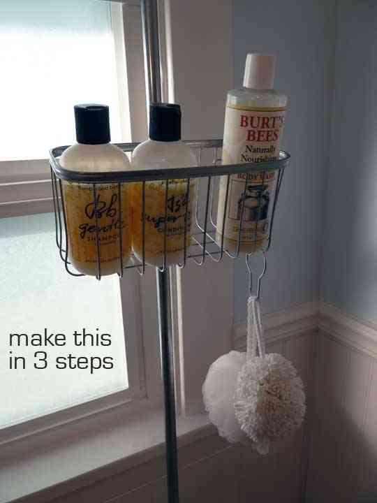 Una práctica cesta para la ducha 1