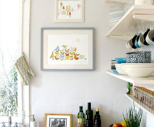 Una buena idea: decora tu cocina con cuadros 1