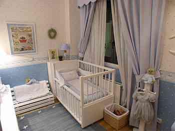 Luz en el dormitorio de los niños 1