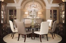La mesa de comedor decoraci n de interiores opendeco for Mesa redonda cristal 8 personas