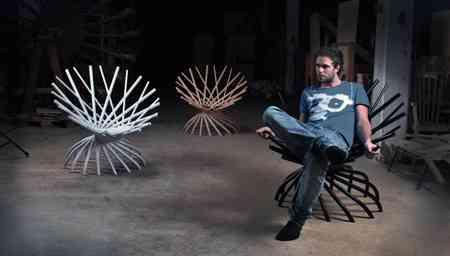 Nest silla de diseño de Markus Johansson