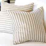 Textil de colores claros a rayas para la decoración del Verano 2011 4