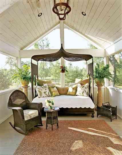 Ideas para porches decoraci n de interiores opendeco - Decorar un porche ...