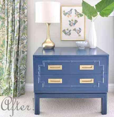 Una mano de pintura para cambiar el estilo de un mueble 2