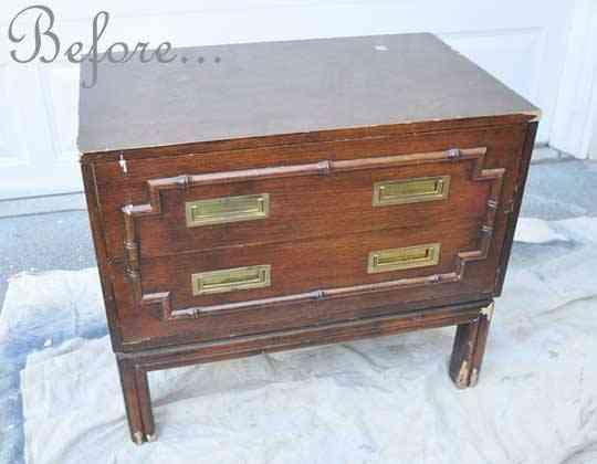 Una mano de pintura para cambiar el estilo de un mueble 1