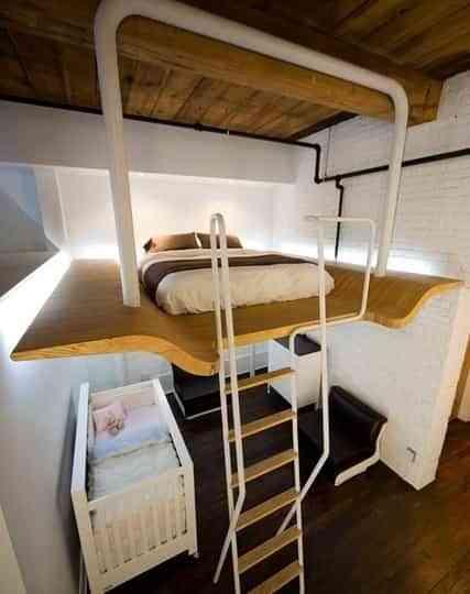 Cinco ideas para ahorrar espacio en un loft pequeo Decoracin de
