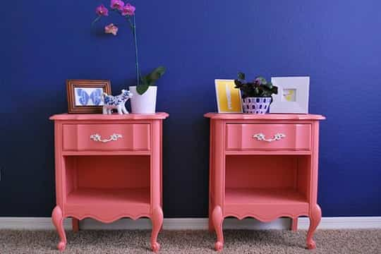 El color una buena alternativa para reciclar muebles for Muebles para reciclar