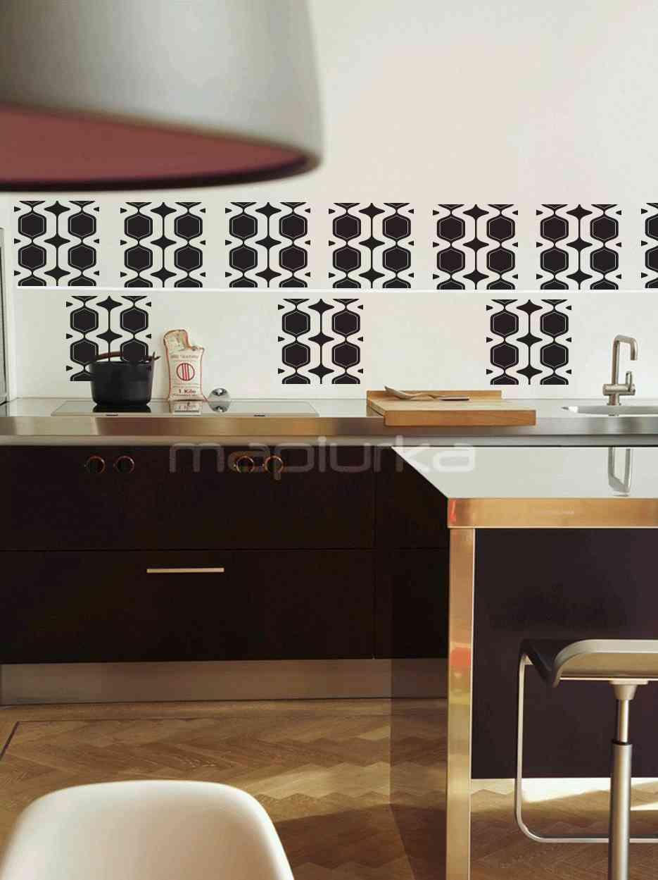 Pegatinas para azulejos decoraci n de interiores opendeco - Vinilos para azulejos de cocina ...