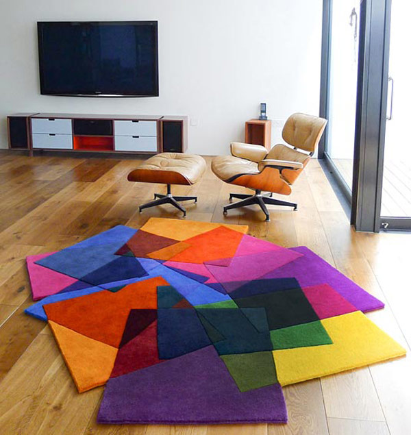 Alfombra a todo color decoraci n de interiores opendeco for Todo alfombras