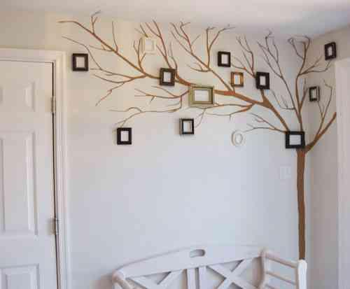 Un Arbol De Recuerdos Decoracion De Interiores Opendeco - Arboles-de-decoracion