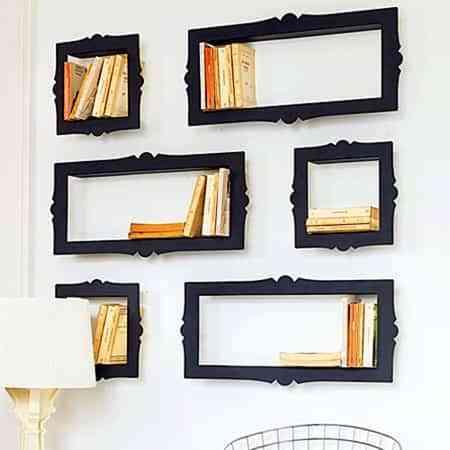 Estantes decorativos - Decoración de Interiores | Opendeco