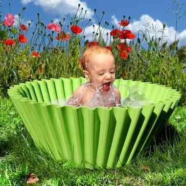 molde de magdalena como bañera